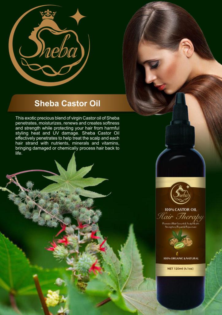 Sheba Castor Oil